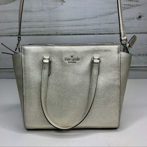 Kate Spade Jackson Leather Satchel NWT